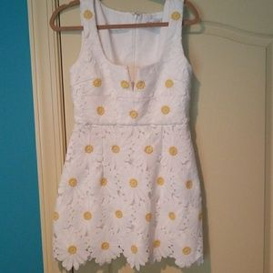 Alice McCall White Lace Daisy Dress
